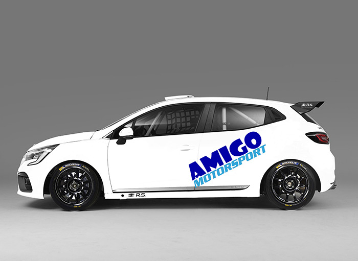 Amigo Motorsport planning entry in new Clio Cup UK championship - Click here to view this entry