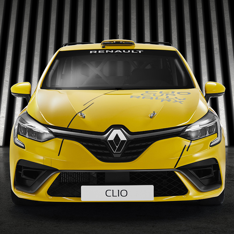 Orders now being taken for new 2020 Clio Cup UK race car - Click here to view this entry